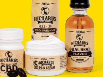 Richard's Hemp CBD Stimulus Package Giveaway