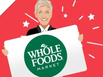 $500 Whole Foods Gift Card Giveaway