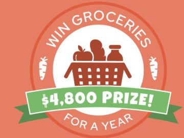 Valpak Win Groceries for a Year National Sweepstakes