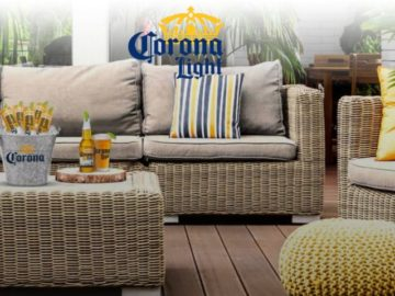 Corona Light Perfect Your Patio Sweepstakes (Limited States)