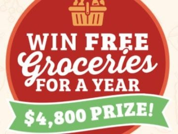 The Leader Win Free Groceries for a Year Sweepstakes
