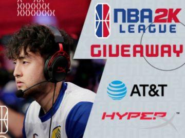 NBA 2K League AT&T x HyperX Giveaway