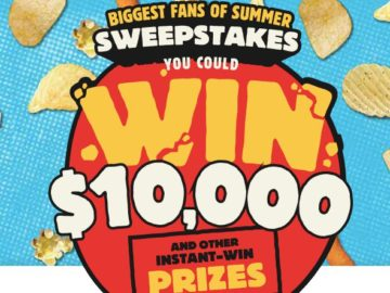 Herr's Biggest Fans of Summer Sweepstakes and Instant Win Game