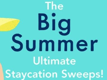 Simon & Schuster Big Summer Ultimate Staycation Sweepstakes