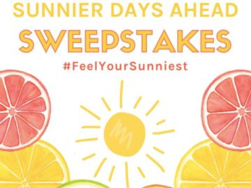 True Citrus Sunnier Days Ahead Sweepstakes