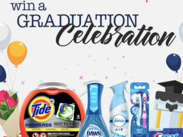 Celebrate Your Graduate With Harris Teeter and P&G Sweepstakes (Limited States)