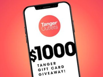 Tanger Outlets $1,000 Shopping Spree Giveaway (Facebook)