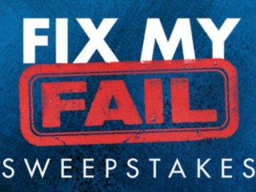HGTV Fix My Fail Sweepstakes (On Air Code Word)