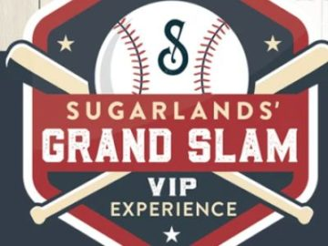 Sugarlands' Grand Slam VIP Experience Sweepstakes