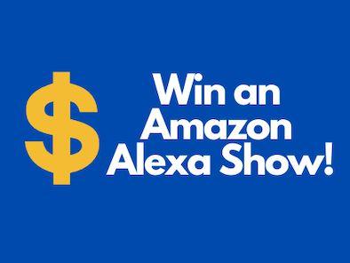 Win an Alexa!