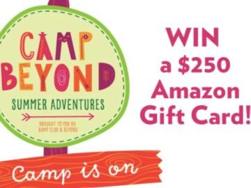 Camp Beyond Amazon Gift Card Giveaway