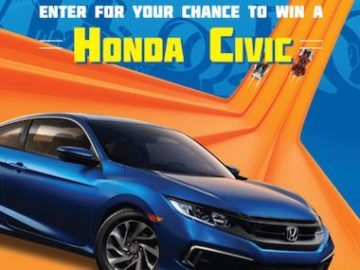 HOT WHEELS 2020 Kroger Honda Civic Sweepstakes