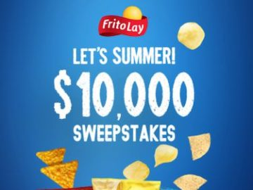 Tasty Rewards Let's Summer $10,000 Sweepstakes