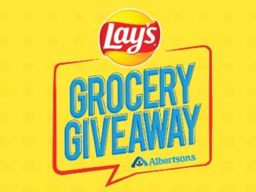 Lay's Grocery Giveaway at Albertson Sweepstakes (Bag Code Needed + Limited States)