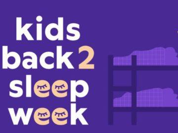 Purple Kids Back to Sleep Week Giveaway