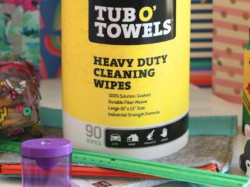 Tub O' Towels Back to School Giveaway