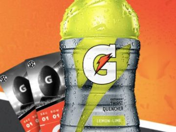 Nothing Beats The SEC, Nothing Beats Gatorade Sweepstakes and Instant Win Game