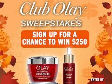 Club Olay - Olay Always On Sweepstakes