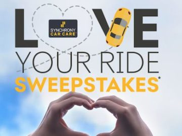 Synchrony Love Your Ride Sweepstakes