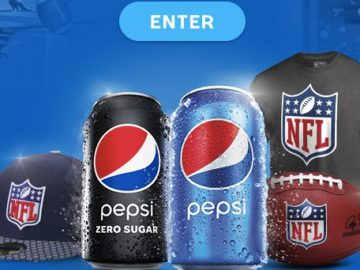 Pepsi Gear Up For The Season Sweepstakes (Limited States)
