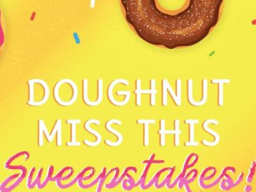 Lee Newspapers Doughnut Miss This Sweepstakes