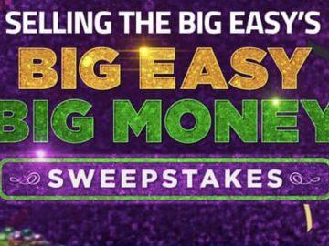Big Easy Big Money Sweepstakes (Code)
