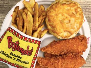 Free Bojangles for a Year Giveaway