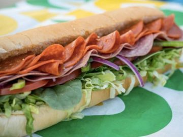 Subway Footlong Season Sweepstakes (Purchase Required)