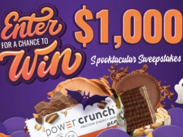 Power Crunch Spooktacular Sweepstakes (Limited States and Counties)