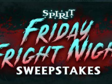 Spirit Halloween Friday Fright Night Sweepstakes
