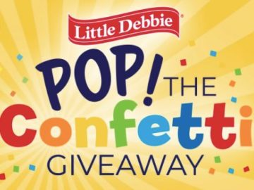 Little Debbie Pop the Confetti Giveaway
