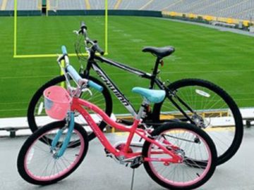 Green Bay Packers Autographed DreamDrive Bike Sweepstakes