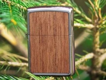 Zippo's Wrapped Wood Emblem Sweepstakes