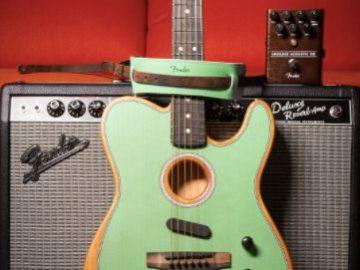 Music Zoo's Fender Acoustasonic Giveaway