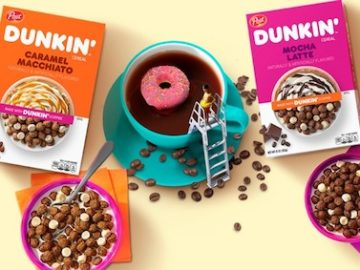 Post Cereals Dunkin' Cereal Morning Brew Giveaway