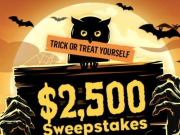 Tasty Rewards Trick or Treat Yourself $2,500 Sweepstakes