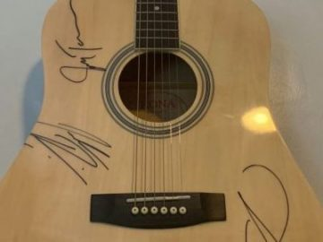 Country Outdoors Autographed Guitar Sweepstakes