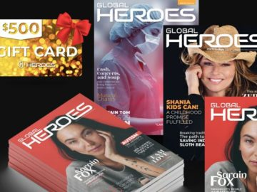 Global Heroes Visa Gift Card Giveaway
