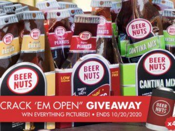 BEER NUTS Crack 'Em Open Giveaway