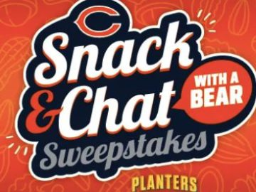Chicago Bears Snack and Chat Sweepstakes