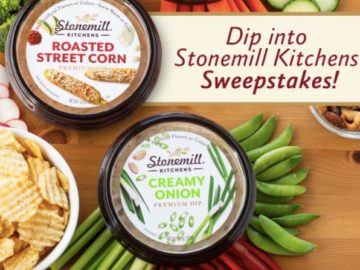 Dip into Stonemill Kitchens Sweepstakes