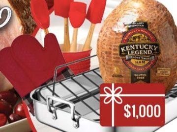 Kentucky Legend Holiday Ham Sweepstakes