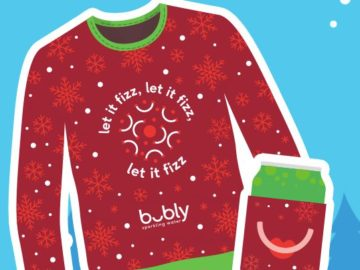 Bubly Holiday Cheer Sweepstakes