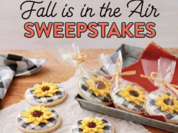 Wilton Fall Is in the Air Sweepstakes