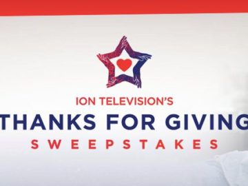 ION Television's Thanks for Giving Sweepstakes