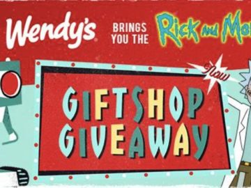 Rick & Morty's Giftshop Giveaway from Wendy's