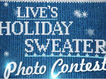 LIVE's Holiday Sweater Photo Contest (Photo Upload)