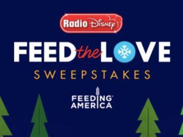 Radio Disney Feed the Love Sweepstakes