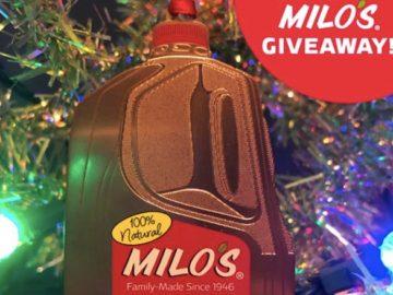 Milo's Tea Company Ornament Sweepstakes