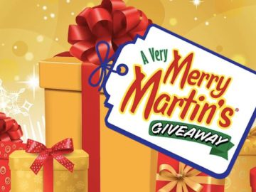 A Very Merry Martin's Giveaway